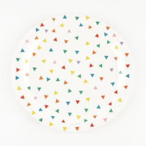 assiettes-triangles-multicolores