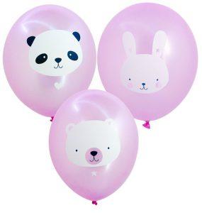 ballons animals pink