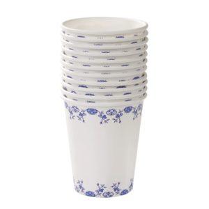 blue porc cup