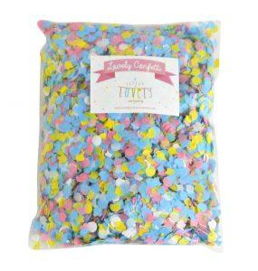 confetti pretty pastel