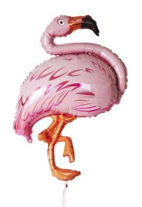 flamingo foil ballon