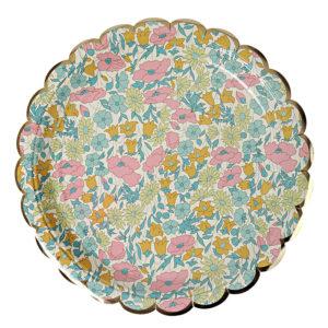 liberty daisy plates