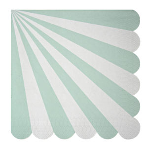 serviette toot sweet mint