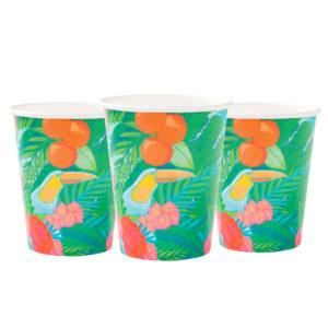 tropical fiesta cups