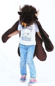 bison déguisement costume