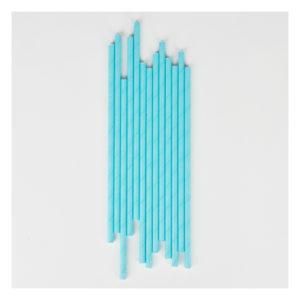 pailles bleu uni1