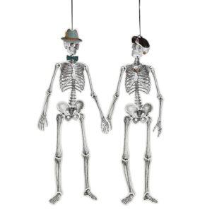bones-hanging squelette suspendu halloween