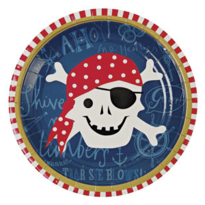 assiette party pirate