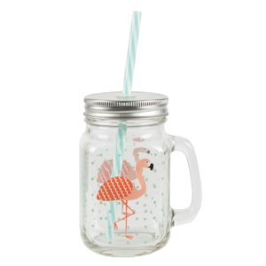 flamingo-mason-jar
