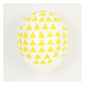 ballon-triangle-jaune