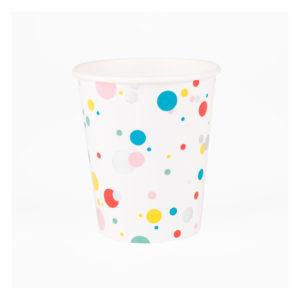 gobelets-en-carton-bulles-multicolores-my-little-day