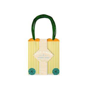 meri-meri 8 sacs cadeaux cirque