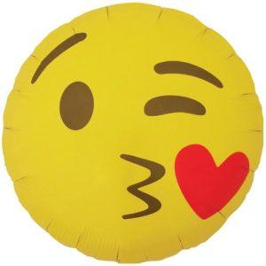 emoji bisou