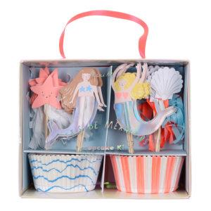 cupcake kit sirène