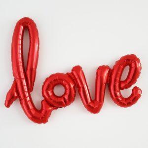 ballon-mylar-love-rouge