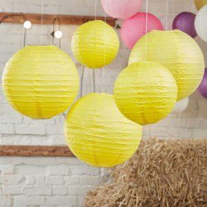 lanterns jaune