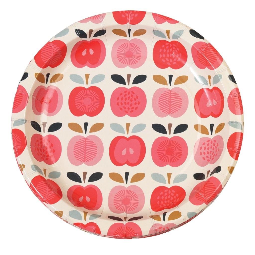 Set Of 8 Vintage Apple Paper Plates  sc 1 st  Pikau0027s World & Set Of 8 Vintage Apple Paper Plates u2013 Pikasworld