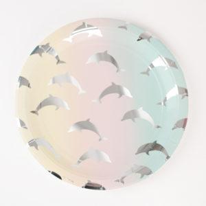 assiettes-en-carton-motif-dauphins-couleur-pastel-my-little-day
