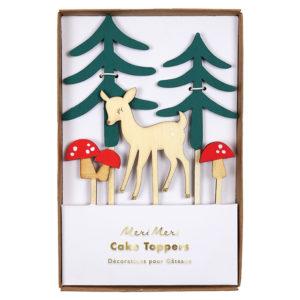 cake-topper-animaux-de-la-foret-anniversaire-sapin-enfant
