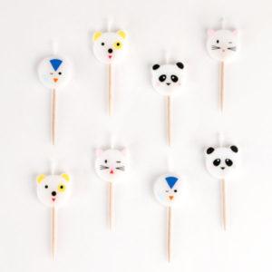 decoration-de-anniversaire-enfant-bougies-animaux-min-mignons-my-little-day
