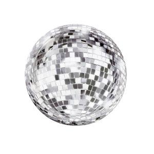 assiettes-disco-boule-facette-anniversaire