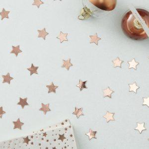 confettis-etoile-rse-doree-cuivre-mariage-noel-anniversaire