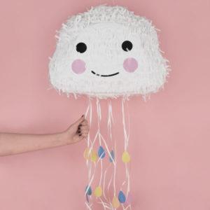 pinata-anniversaire-enfant-pinata-nuage-mignon-pastel