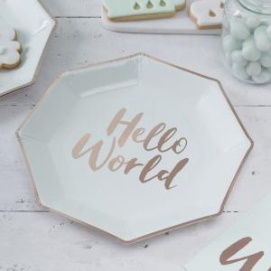 assiettes-hello-world-gingerray-baby-shower