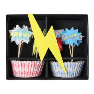 Superhero-cupcake-kit-merimeri-anniversaire