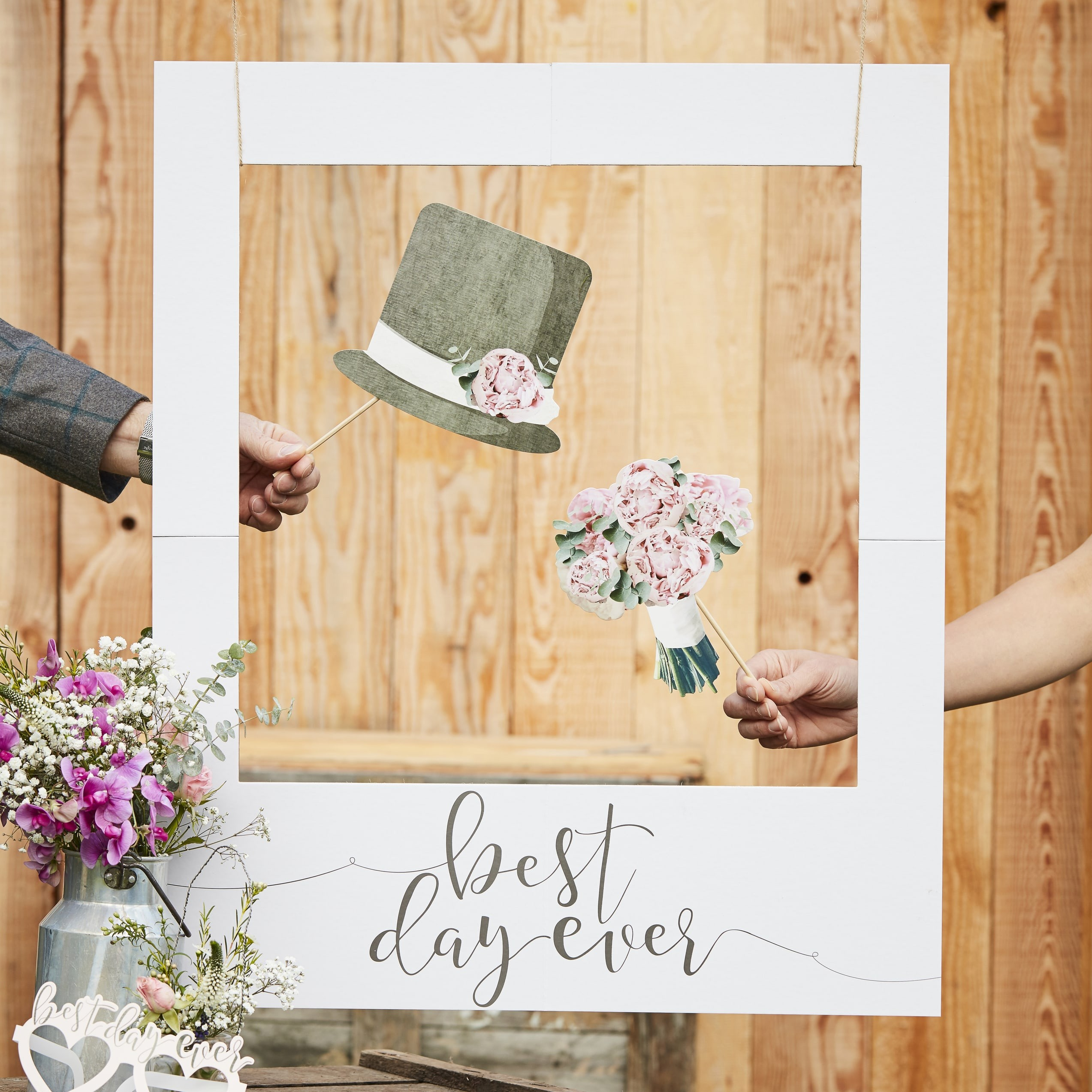 Best Day Ever Polaroid Sign Rustic Country Pikasworld