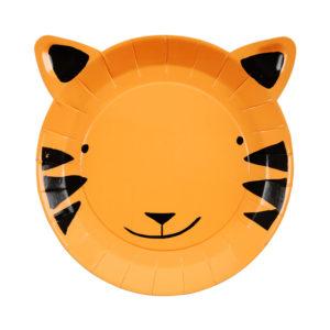 assiettes-tigre-gowild-merimeri-jungle-safari-animaux-anniversaire-decoration